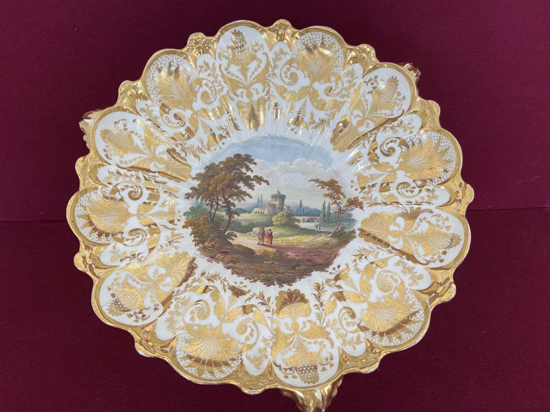 A Derby porcelain dessert centrepiece c.1815-20