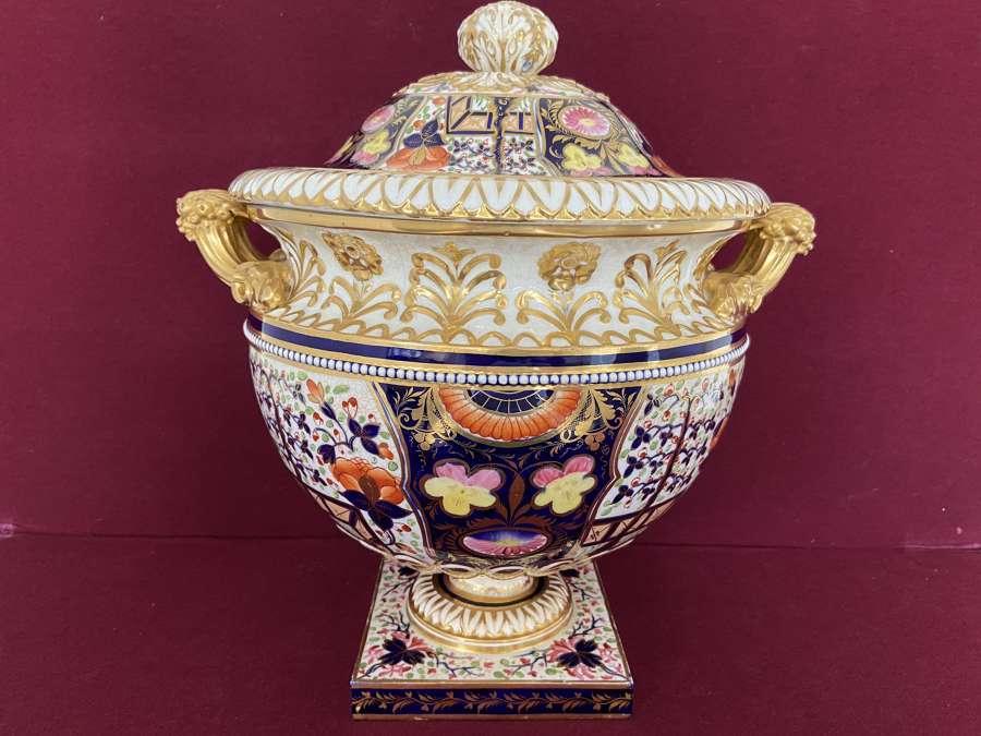 A large Derby covered Vase c.1825