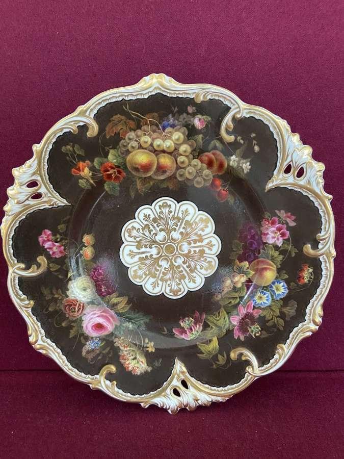 A rare H&R Daniel Dessert Plate c.1840