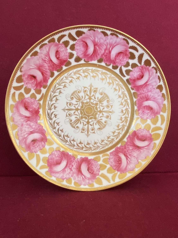 A Spode Felspar Porcelain Plate c.1821-1825