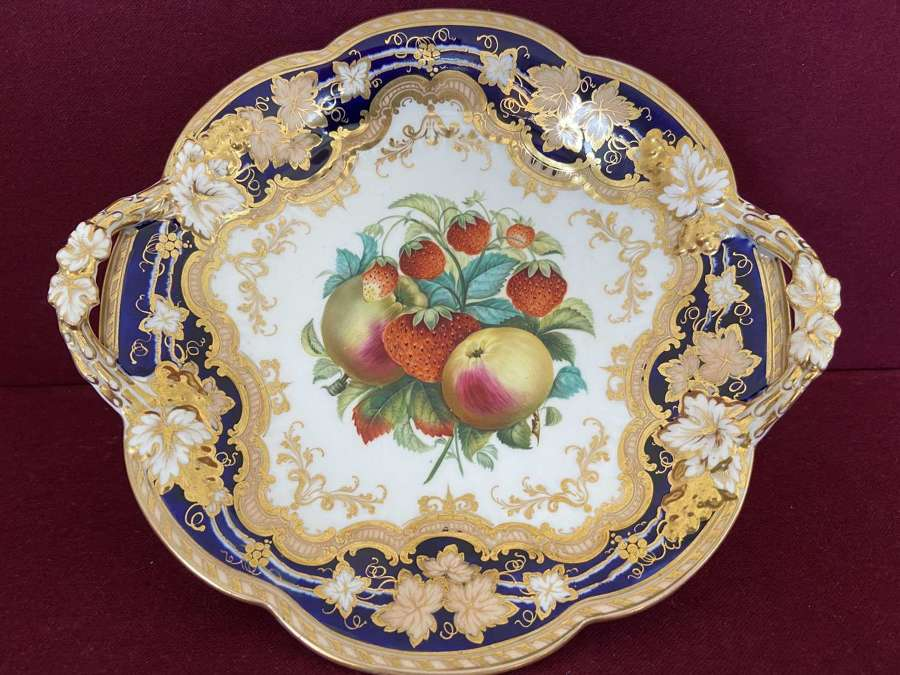 A John Ridgway & Co porcelain dessert comport c.1845