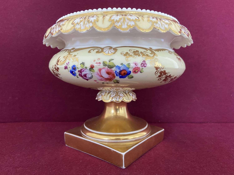 A fine H&R Daniel porcelain comport c.1830