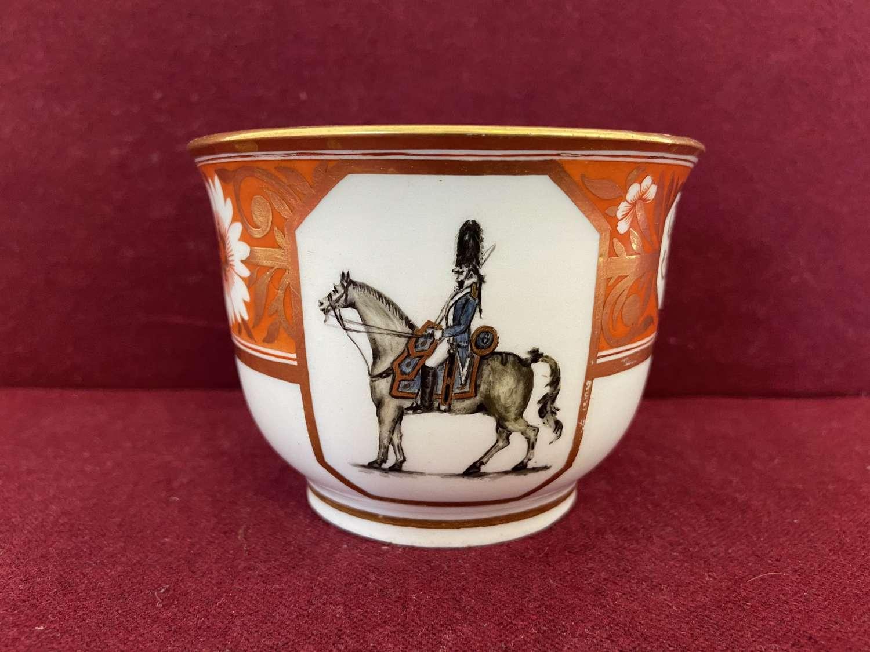 A rare Coalport Breakfast Cup c.1808