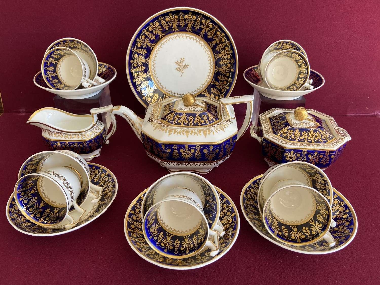 A fine Spode 'London' shape part tea set c.1815