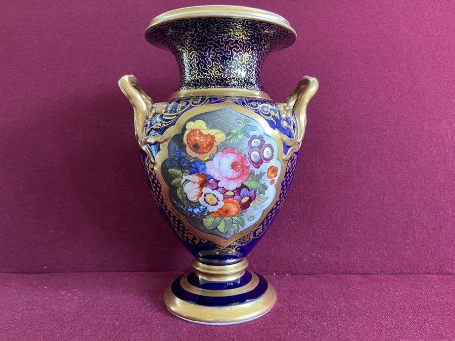A fine English porcelain vase c.1825