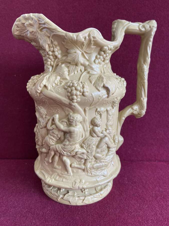 A Charles Meigh Stoneware Jug c.1844
