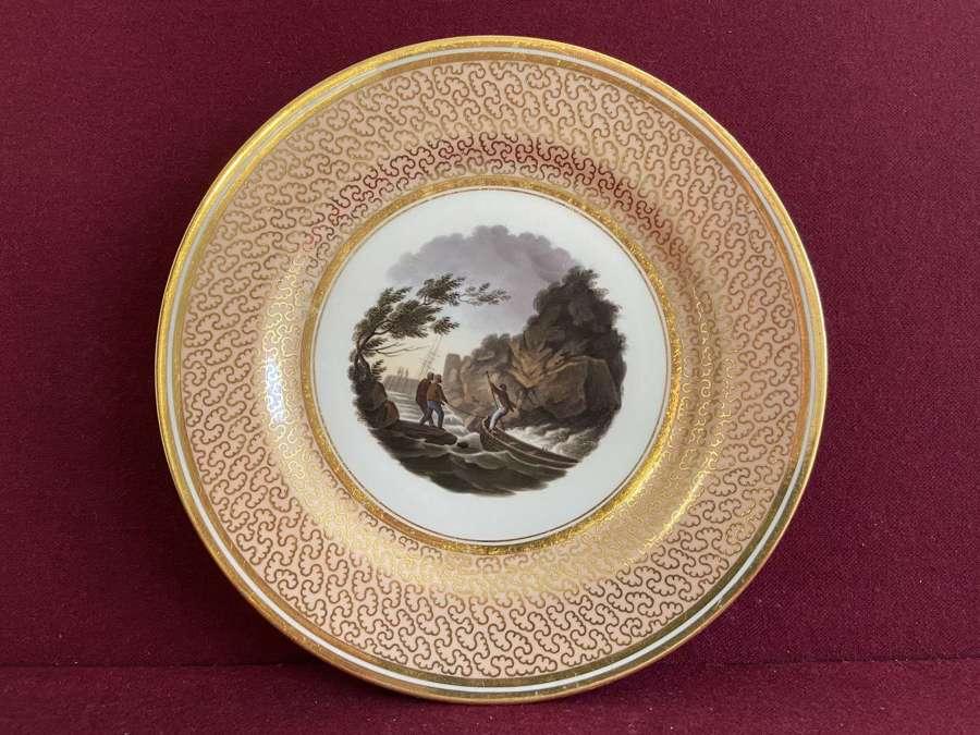 A Barr Flight Barr Worcester Dessert plate c.1804-1813