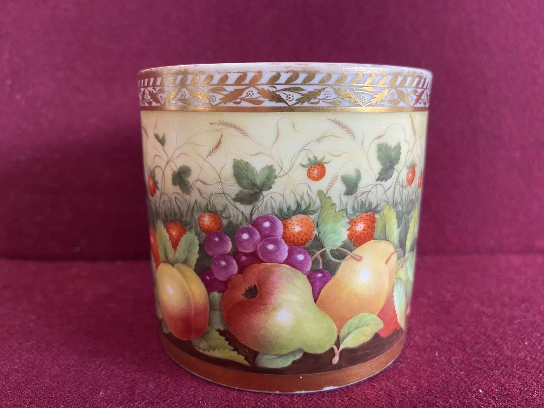 A First Period Minton porcelain Mug c.1810